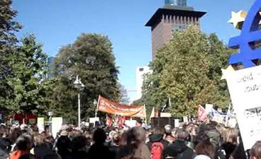 Occupy vor der EZB